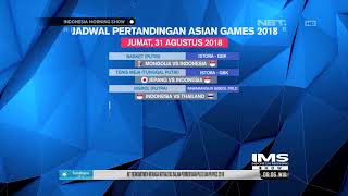 Download Video Perolehan Medali Sementara dan Jadwal Pertandingan Asian Games 2018 MP3 3GP MP4