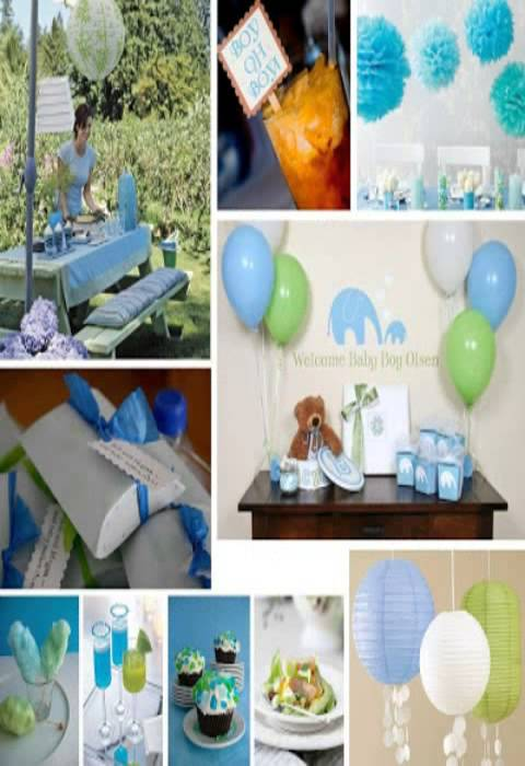 Cheap baby shower decoration ideas youtube for Baby shower decoration free