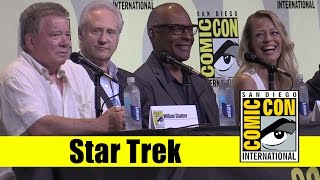 Star Trek | 2016 Comic Con Full Panel (William Shatner, Scott Bakula, Michael Dorn)