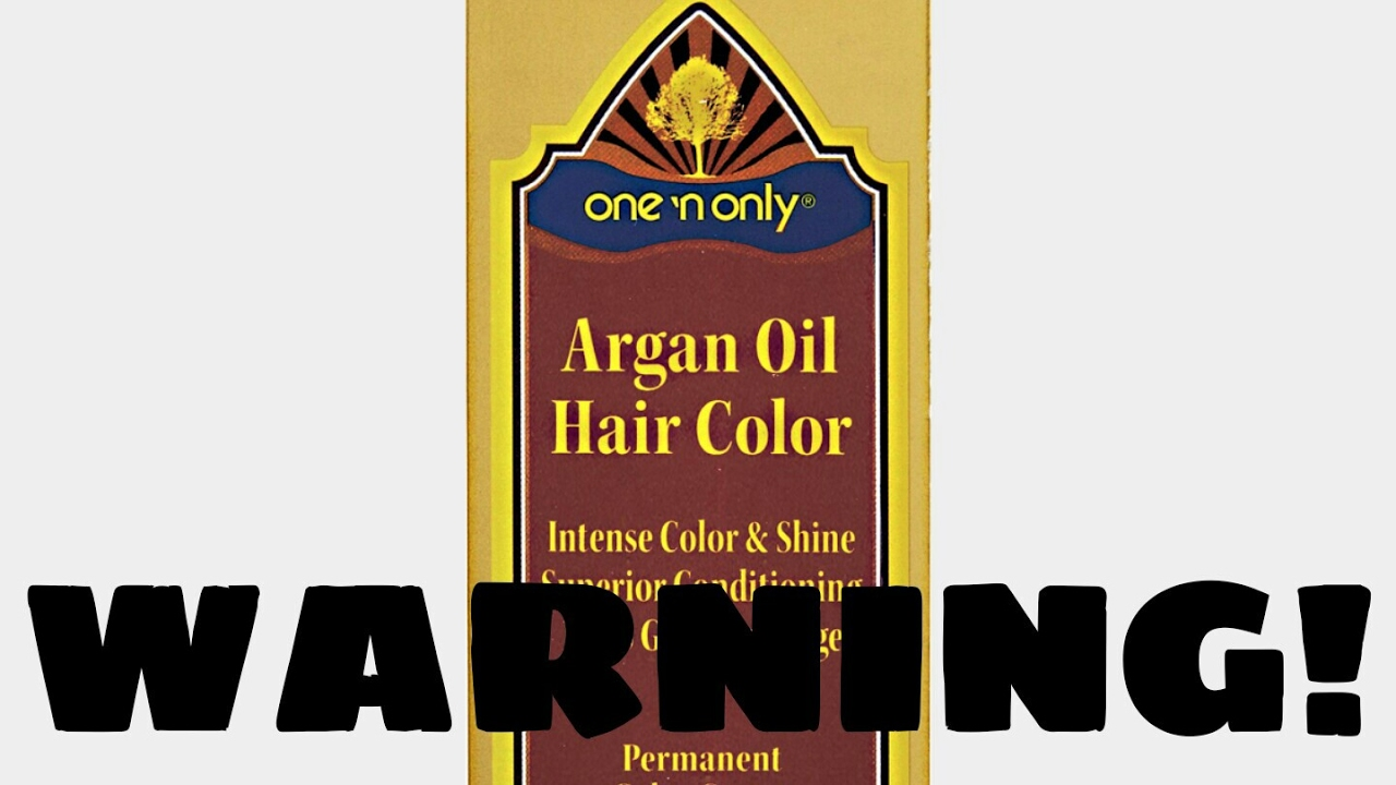 Warning One N Only Argan Oil 11hla Will Turn Your Hair Green Youtube