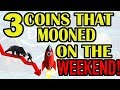 Top 3 ALT COINS that surged last weekend! BTC analysis and shorting Bitcoin