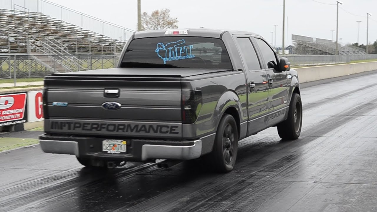 Fastest f150 ecoboost quarter mile 1 4 built and tuned by mpt performance faster times available youtube