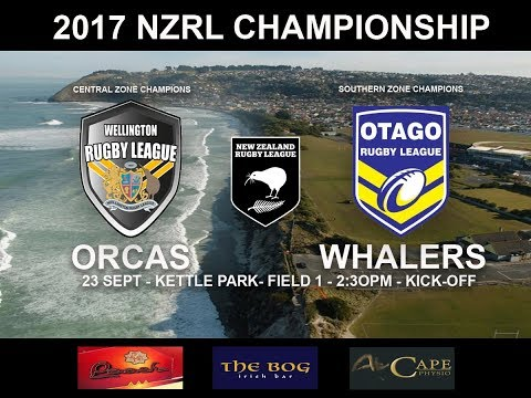 Wellington Orcas vs Otago Whalers