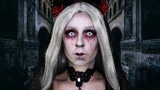 MARIÉE MORTE 🌹💀 / MAQUILLAGE HALLOWEEN FACILE