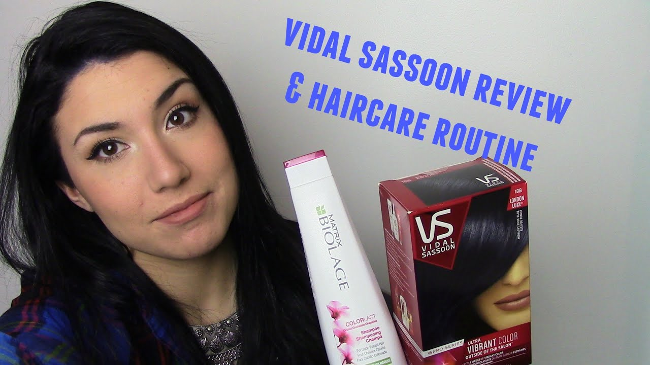 Vidal Sassoon Review New Haircare Makeup By Rachel Rose Youtube