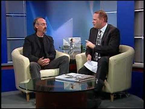 Artist Steve Hanks on Alberta's CTV