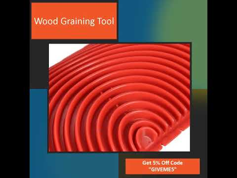 Wood Graining Tool Ace Hardware - Decorative Tools- Graining Combs