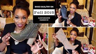 2015 Fall/Winter Shoe Haul + TRY ON!   Trendy Fall Fashion