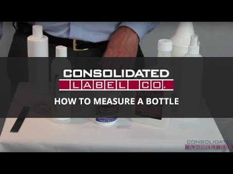 How to Measure a Bottle + Label Size Calculator | Custom Labels