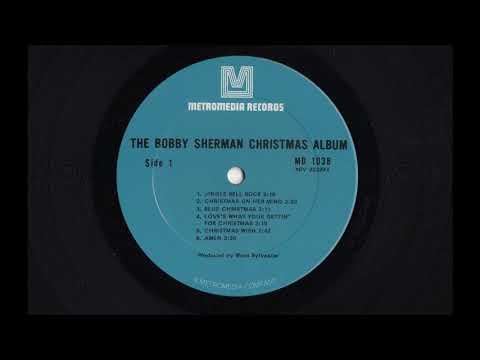 The Bobby Sherman Christmas Album - MD-1038 - 1970 - Vinyl Record LP Full Album