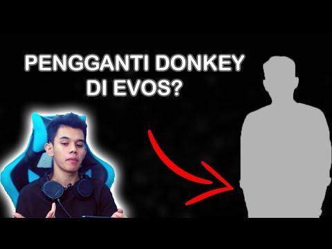 PENGGANTI EVOS DONKEY !!! MOBILE LEGENDS INDONESIA