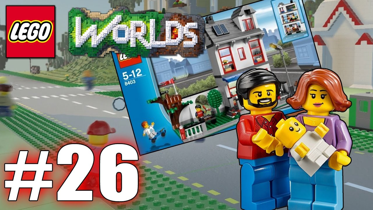 Lego Worlds Part 26 Unsere Erste Stadt Lego City Lets Play Lego