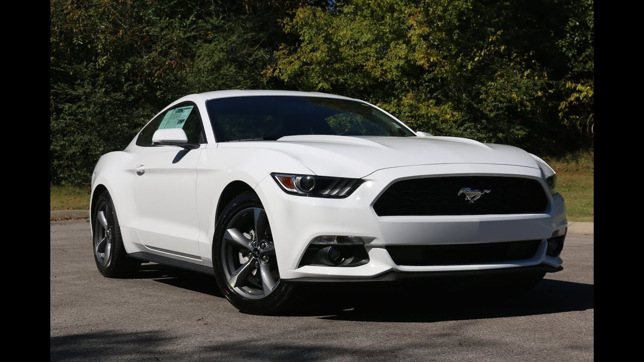 2015 mustang v6 white cloth interior youtube. Black Bedroom Furniture Sets. Home Design Ideas