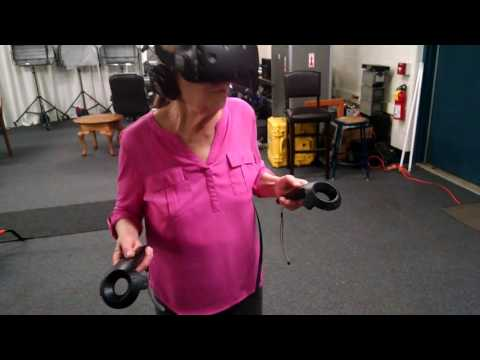 My Mom Goes Inside VR for the First Time