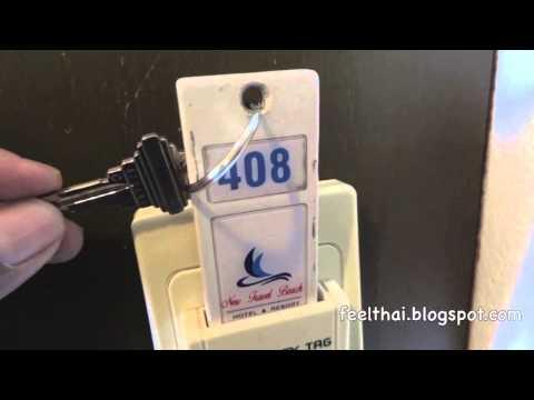 มือใหม่หัดเดินทาง วิธีเสียบกุญแจเปิดไฟในโรงแรม