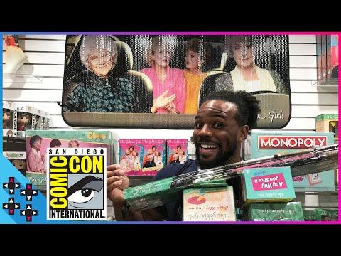 SDCC 2018: GOLDEN GIRLS SHOPPING SPREE!!! - UUDD Vlogs