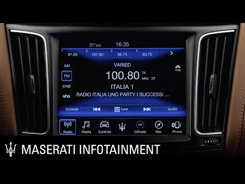 Maserati. Infotainment series. Radio presets