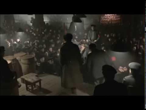 Escena del soviet en «Reds» (Warren Beatty, 1981)