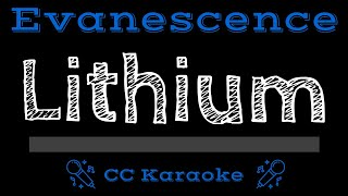 Evanescence • Lithium (CC) [Karaoke Instrumental Lyrics]