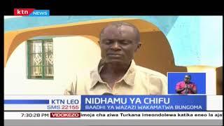 Chifu Juma kutoka Kaunti ya Bungoma aendesha shuguli kuhakikisha kuwa watoto wote wanapata masomo