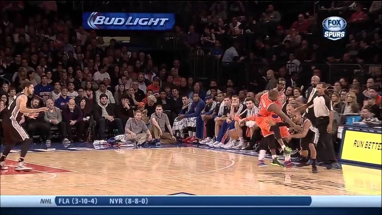 Spurs Vs Knicks Detail: Kawhi Leonard Full Highlights Spurs Vs Knicks (11/10/2013