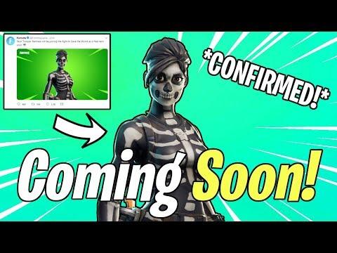 SKULL TROOPER RAMIREZ CONFIRMED! NEW Skull Trooper Hero Coming Soon   Fortnite Save The World News