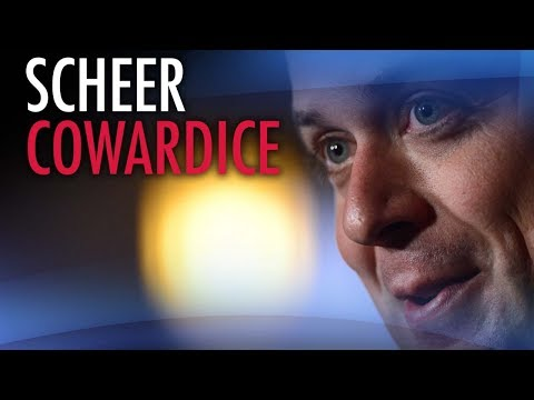 """Andrew Scheer needs """"to grow a spine — and fast"""""""