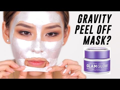 Gravity Mud Peel Off Mask Review | TINA TRIES IT