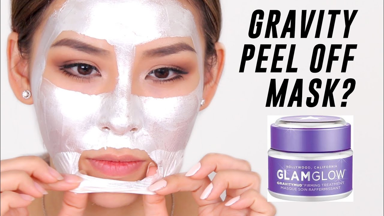 gravity mud peel off mask review tina tries it youtube. Black Bedroom Furniture Sets. Home Design Ideas