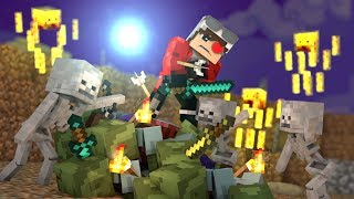 ЗАЩИТА НЕКСУСА! МИЛЛИАРДЫ МОБОВ(НЕ ОБЫЧНЫХ) ПРОТИВ МЕНЯ ОДНОГО! СМОГУ ЛИ Я ВЫЖИТЬ? Minecraft Survive