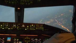 Approach And Landing At Cairo International Airport ( HECA ) V1