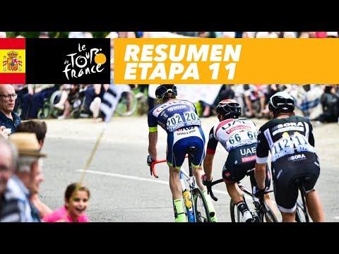 Resumen - Etapa 11 - Tour de France 2017