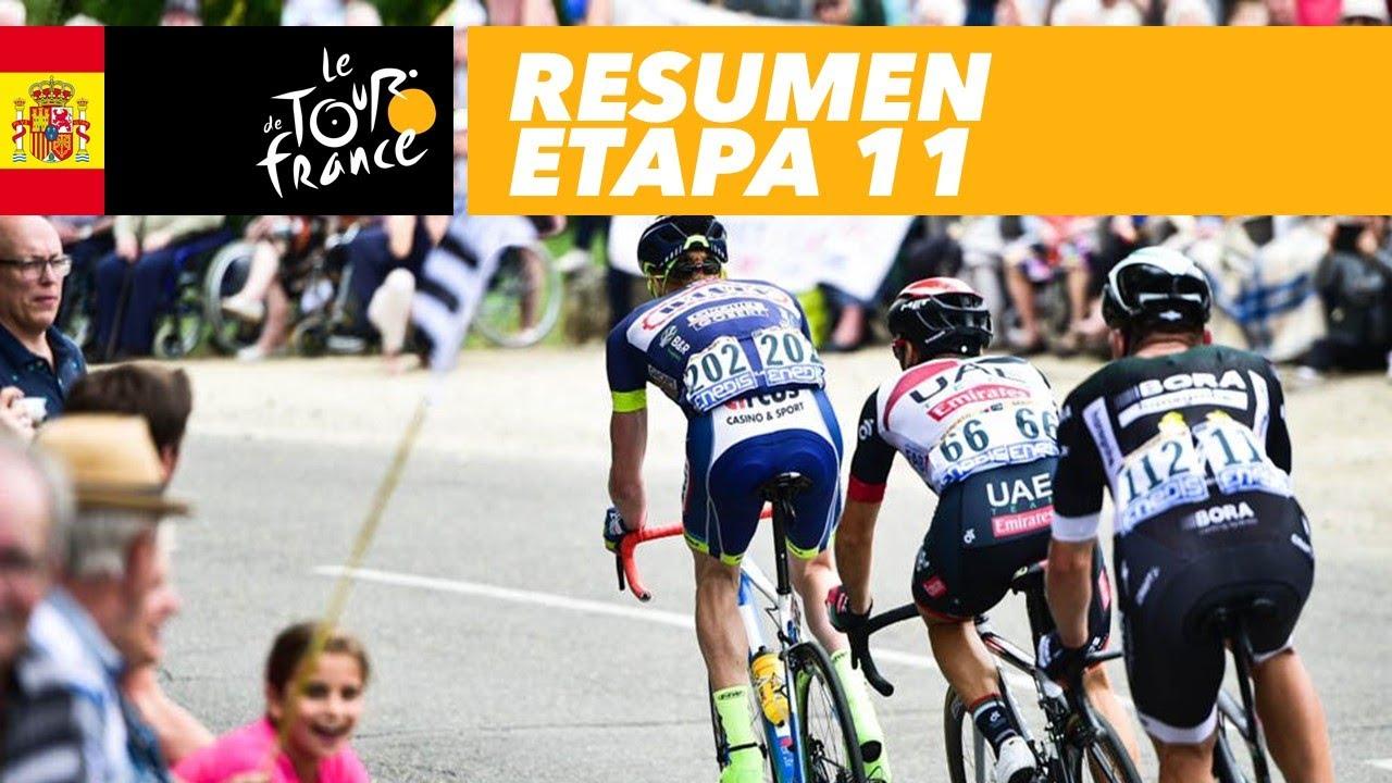 Resumen Etapa 11 Tour De France 2017 Youtube