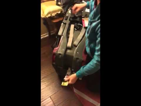 Instructional video - how to put a Diono RadianRXT car seat back ...