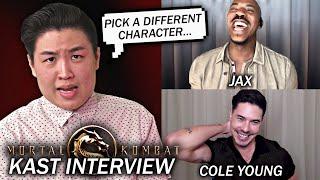 Entrevistando MAIS membros do Mortal Kombat (2021) Filme KAST !! (Mehcad Brooks e Lewis Tan)