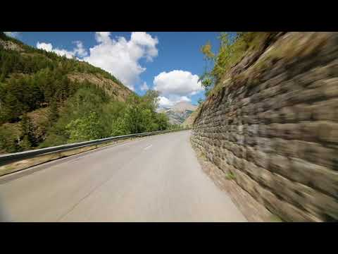 Col d'Allos from Colmars - Indoor Cycling Training