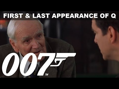 Desmond Llewelyn: The First & last Appearance of the one and only Q  James Bond 007