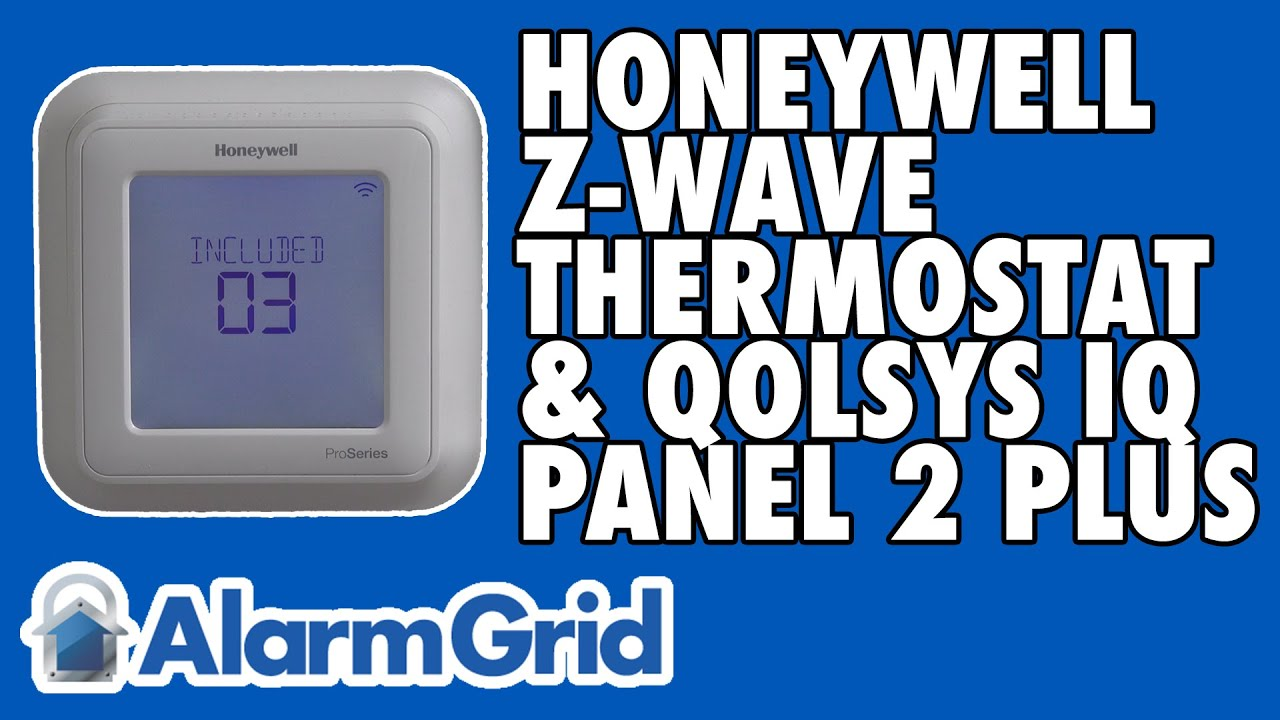 Using a Honeywell Z-Wave Thermostat with a Qolsys IQ Panel 2 Plus