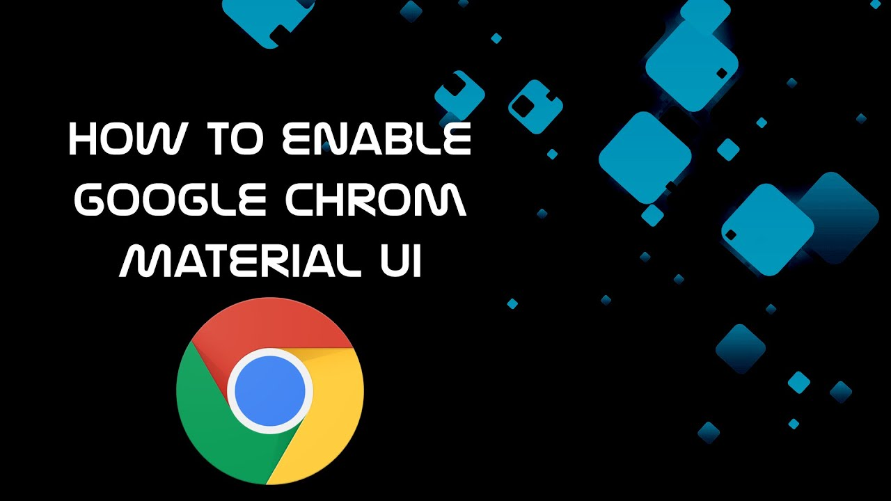 How to enable google chrome material ui material design for Material design space