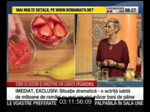 Sucuri naturale pentru detoxifiere si slabire