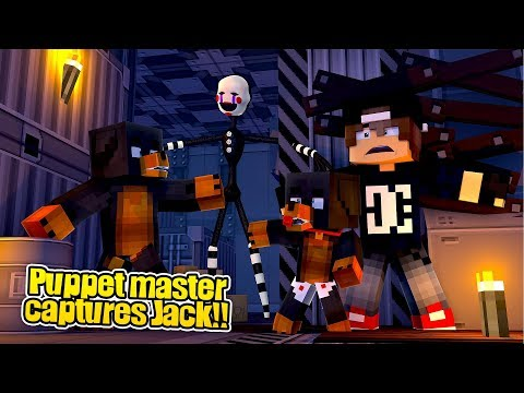Minecraft Adventure - THE PUPPET MASTER HAS TRAPPED JACK IN HIS BASEMENT!!!!