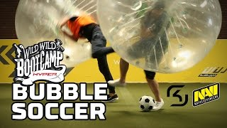 SK vs. Na`Vi (Pt. 3): Bubble Soccer - HyperX Moments