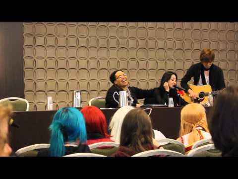 Yu Asakawa Megurine Luka VA singing Just Be Friends
