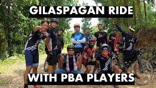 GILASpagan Ride with PBA Players