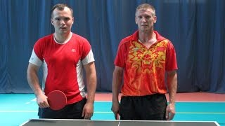 Mecz fina�owy turnieju tenisa sto�owego: Ciak vs Mierzejewski