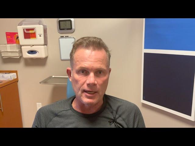 Dallas Male Hair Transplant Testimonial Two Weeks Out