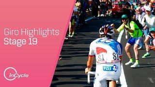 Giro d'Italia: Stage 19 - Highlights