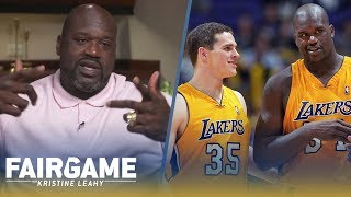 "Shaq Bought a New Car, Wardrobe for Mark Madsen Because He's the ""Purest Guy in the NBA"" 