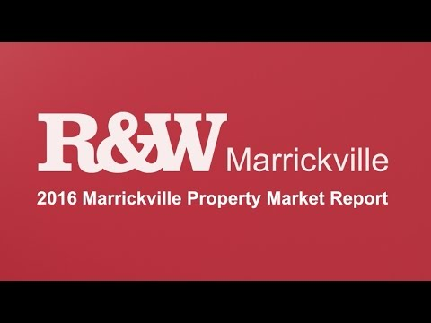 R&W 2016 Marrickville Property Market Report
