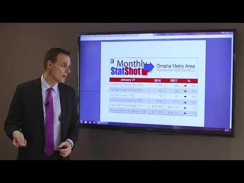 January 2018 Real Estate Market Statistics | Omaha, Nebraska